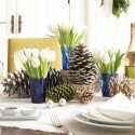Fascinating Christmas Table , 9 Fabulous Christmas Dining Table Centerpiece In Furniture Category