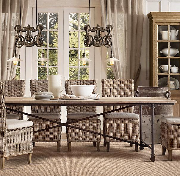Dining Room , 5 Top Restoration Hardware Flatiron Dining Table : Flatiron Dining Tables