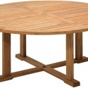 Gloster Bristol Table , 7 Popular 70 Inch Round Dining Table In Furniture Category