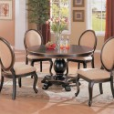 Gold Pedestal Dining Table , 8 Amazing Round Pedestal Dining Table Set In Dining Room Category