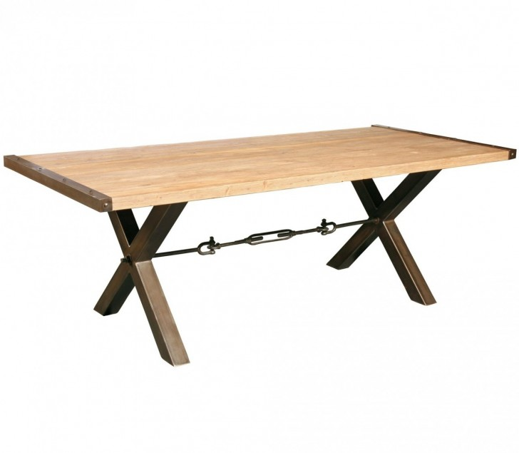 Furniture , 8 Best Reclaimed Wood Dining Table Metal Legs : Home FURNITURE Dining Room