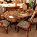 Ireland Dark Wood Dining Table , 9 Popular Kathy Ireland Dining Table In Dining Room Category