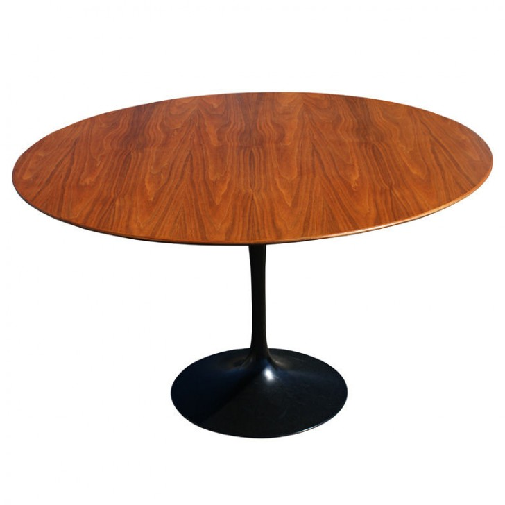 Furniture , 8 Stunning Eero Saarinen dining table : Knoll Oak Dining Table