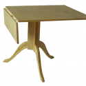Leaf Pedestal Dining Table , 7 Popular Rectangular Drop Leaf Dining Table In Furniture Category