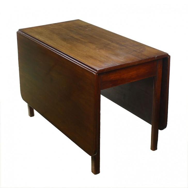 Furniture , 8 Popular Antique Drop Leaf Dining Tables : Mahogany Drop Leaf