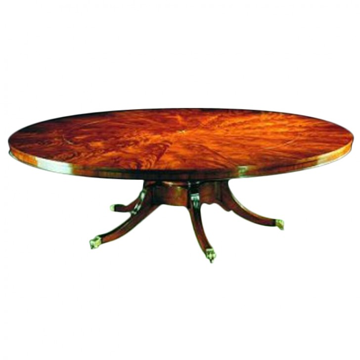 Huge Oak Expanding Dining Table  4 8 10 12 15 20