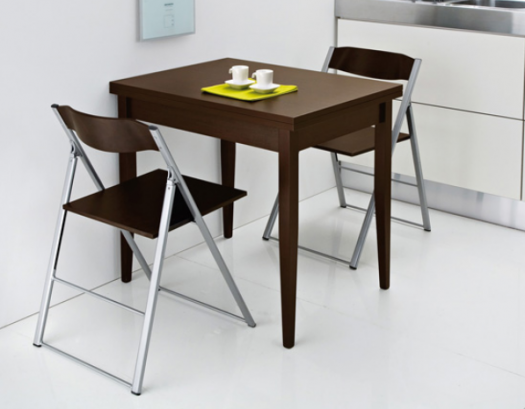 Furniture , 6 Good Collapsible Dining Table : Modern Folding Dining Table