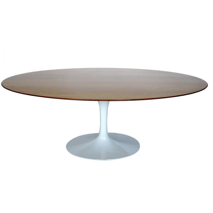 Furniture , 8 Charming Saarinen Dining Table Oval : OVAL DINING TABLE