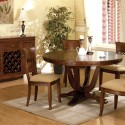 Oak Pedestal Dining Table Set , 8 Amazing Round Pedestal Dining Table Set In Dining Room Category