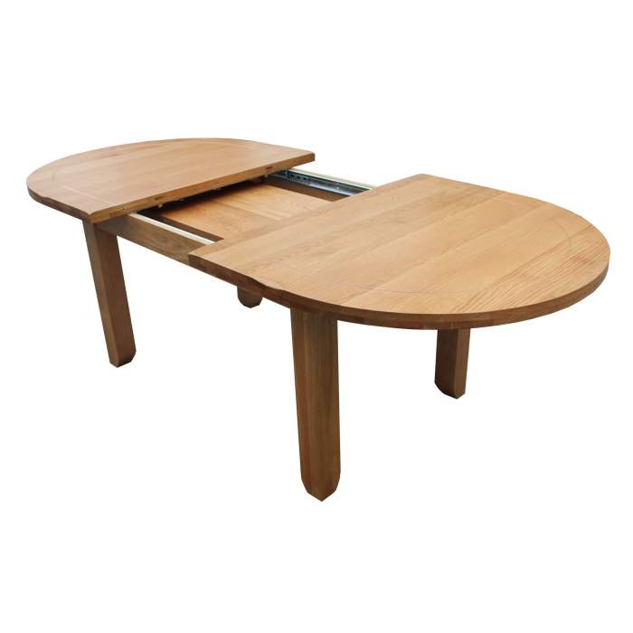 Furniture , 8 Popular Oblong Dining Tables : Oval Extending Dining Table