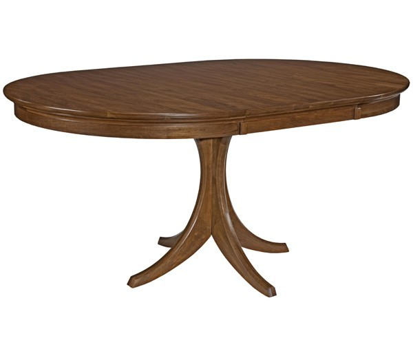 Furniture , 6 Top Kincaid Dining Table : Park Round Dining Table