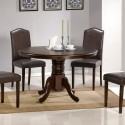 Pedestal Table Dining Set , 8 Amazing Round Pedestal Dining Table Set In Dining Room Category