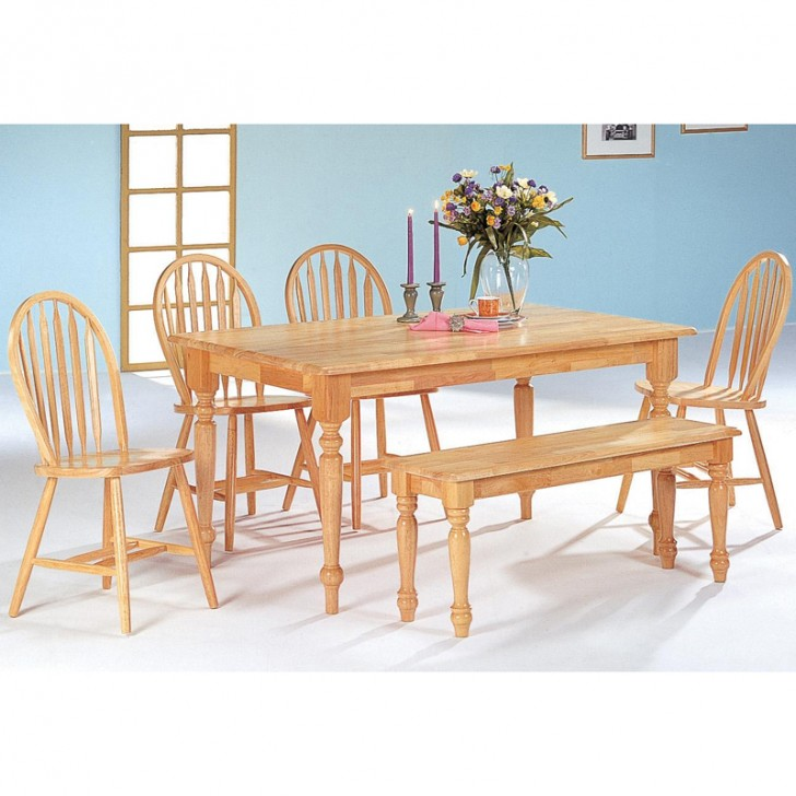 Dining Room , 8 Gorgeous Butcher Block Dining Room Table : Piece Dining Room Set