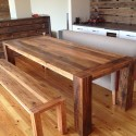 Reclaimed Wood Dining Table Plans , 7 Top Recycled Wood Dining Tables In Furniture Category