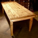 Reclaimed Wood Table , 8 Nice Salvaged Wood Dining Tables In Furniture Category