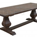 Reclaimed Wood , 7 Unique Trestle Dining Tables With Reclaimed Wood In Furniture Category
