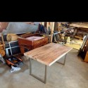 Restored wood dining table , 8 Lovely Restored Wood Dining Table In Furniture Category