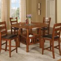 Round Counter Height Dining Room Table Set , 8 Lovely Counter Height Dining Room Table Sets In Dining Room Category
