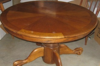 504x467px 7 Gorgeous 48 Inch Round Dining Table With Leaf Picture in Furniture