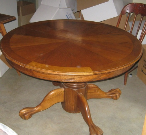 Furniture , 7 Gorgeous 48 Inch Round Dining Table With Leaf : Round Dining Room Table