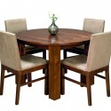 Round Dining Table , 6 Good Round Table Pads For Dining Room Tables In Dining Room Category