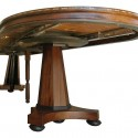 Round Expanding Dining Table , 8 Charming Round Expanding Dining Table In Furniture Category