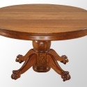 Round Oak Dining Table , 7 Gorgeous 48 Inch Round Dining Table With Leaf In Furniture Category