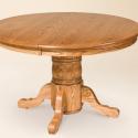 Round Pedestal Dining Tables , 6 Gorgoeus Expandable Pedestal Dining Table In Furniture Category