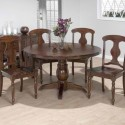 Round Pedestal Table , 8 Amazing Round Pedestal Dining Table Set In Dining Room Category