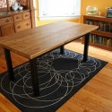 Rustic Reclaimed Dining Table , 8 Good Reclaimed Wood Dining Table Chicago In Furniture Category