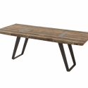 Rustic Salvaged Wood Dining Tables , 7 Charming Salvaged Wood Dining Tables In Furniture Category