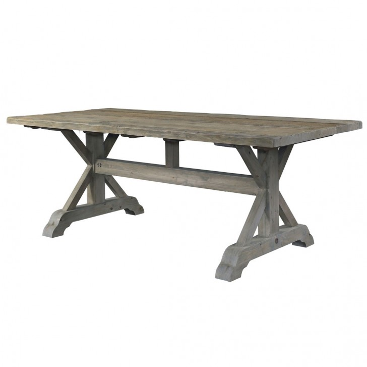 Furniture , 8 Nice Salvaged Wood Dining Tables : Salvaged Wood Dining Table