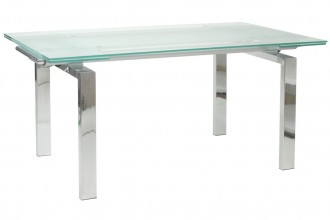 1101x1100px 8 Good Glass Dining Tables With Extensions Picture in Furniture
