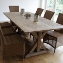 Siena Rustic Dining Table , 7 Awesome Siena Dining Table In Dining Room Category