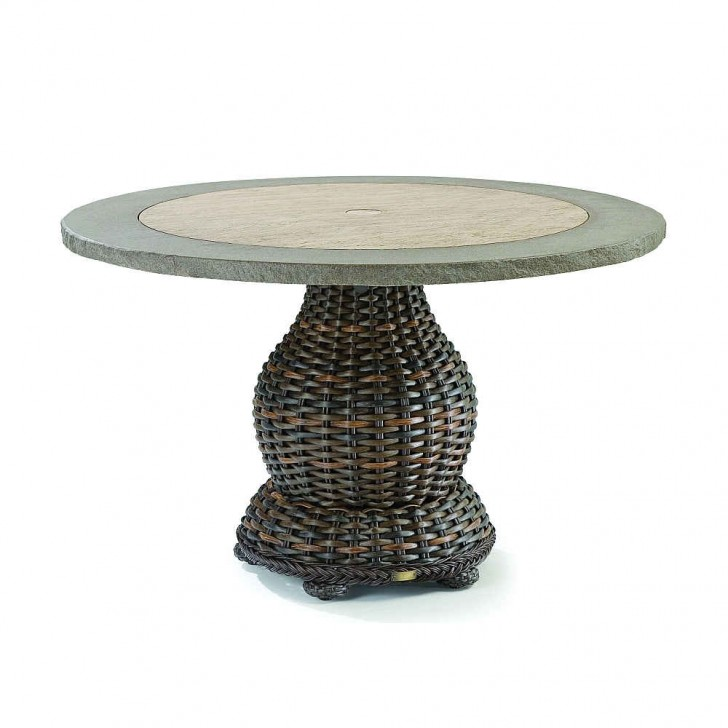 Furniture , 7 Awesome Round Pedestal Dining Tables : South Hampton Dining Table