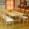 Table before an extension pad , 8 Unique  Dining Room Table Extender In Furniture Category