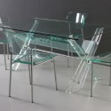 Transparent Acrylic Dining Table , 8 Gorgeous Lucite Dining Tables In Furniture Category