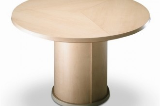 600x600px 7 Perfect Round Expandable Dining Table Picture in Furniture