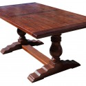 Trestle Dining Table in Salvaged Wood , 8 Cool Salvaged Wood Dining Table In Furniture Category