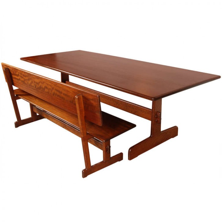Furniture , 8 Lovely Modern Trestle Dining Table : Trestle Dining Table
