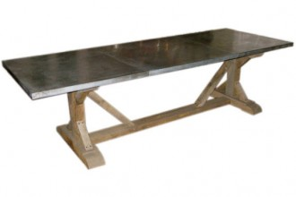 574x574px 8 Excellent Zinc Topped Dining Table Picture in Furniture