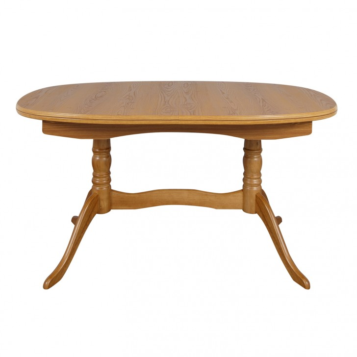 Furniture , 7 Fabulous Extending Pedestal Dining Table : Twin Pedestal Dining Table