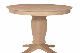 1280x1135px 7 Stunning Unfinished Round Dining Table Picture in Furniture