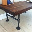 Using Butcher Block Dining Table , 8 Fabulous Butcher Block Dining Room Tables In Furniture Category