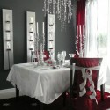 White Dining Room Design , 6 Stunning Dining Room Table Centerpieces Modern In Dining Room Category