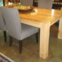Wood Modern Dining Table , 8 Excellent Custom Reclaimed Wood Dining Table In Furniture Category