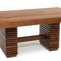 Wood Organic Dining Table , 8 Cool Salvaged Wood Dining Table In Furniture Category