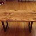 contemporary dining table , 7 Stunning Reclaimed Wood Dining Table San Francisco In Furniture Category