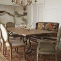 contemporary dining table , 8 Stunning Dining Table With Banquette In Furniture Category