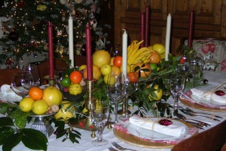1244x933px 7 Good Christmas Dining Table Centerpiece Picture in Apartment